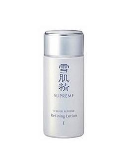 新雪肌精纯怡SUPREME 和汉植物精华药用美白化妆水 140ml